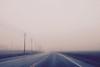 Fog {58/365} (therealjoeo) Tags: 365 365project texas fog road sky headlights
