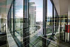 Collage 2010.08.28. Frankfurt - Surreal Impression - 1.5 (Rainer Pidun) Tags: collage frankfurt surreal gebäude buildings strasen streets