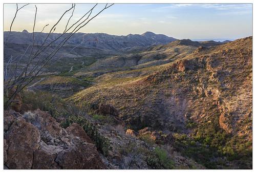 Overlooking Fresno Canyon
