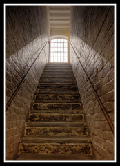 Stairs (veggiesosage) Tags: southwell nottinghamshire workhouse nationaltrust aficionados gx20 gradeiilisted southwellworkhouse stairs sigma1020mmf456dc