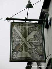 Pub sign for the Slaters Arms - Bradley West Yorkshire England (WanderingPhotosPJB) Tags: flickruploaded pubsigns pubspubsigns england westyorkshire bradley village pub publichouse inn sign slatersarms