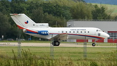 1257 Yakovlev YAK-40 Czech Air Force (http://spirit-foto.webgarden.cz/) Tags: 1257 yakovlevyak40 czechairforce