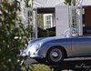 Porsche Speedster (Steel Image) Tags: 1956 porsche 356a 1600 speedster bonhams scottsdale auction arizona az classic car sports race collector german germany 356 911 carrera convertible cars driving aquamarine blue