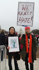 76a.Enroute.WomensMarch.WDC.21January2017 (Elvert Barnes) Tags: 2017 january2017 2017presidentialinauguration 58thpresidentialinauguration2017 21january2017 58thpresidentoftheunitedstatesinauguration2017 womensmarch womensmarch2017 saturday21january2017womensmarch beforethemarch beforethesaturday21january2017womensmarch beforethemarch2017 j21womensmarch2017 streetphotography streetphotography2017 streetphotographybeforej21womensmarch2017 enroutetoj21womensmarch2017rally protestsigns protestsigns2017 protestsignsj21womensmarch2017 washingtondc