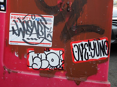 (gordon gekkoh) Tags: wosabi btm seo thr rip ove yuno sanfrancisco graffiti sticker