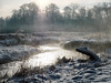 Misty river (stckrboy) Tags: calder pen winter cold nature olympuspen stream walking outdoor snowdays olympus glisten epl7 penepl7 trees mist water scotland tree river rivers airdrie lanarkshire shimmer white branches snow walk