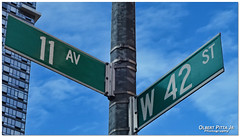 Fabulous 11th Ave & 42nd St corner, Manhattan, NYC (Olbert Pitta Junior) Tags: newyorkcity nyc manhattan bigapple