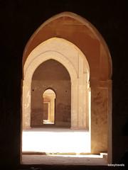 Ukhaidir Fortress (2).jpg (tobeytravels) Tags: iraq alukhaidir abbasid umayyad palace isaibnmusa gertrudebell unesco pishtaq bayts