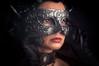 Black Lady (Tomislav Čar (Tomislaw)) Tags: eminaarapović dim zagreb croatia portrait mask lowlight lowkey black lady woman beauty