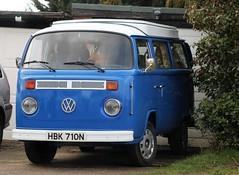 HBK 710N (Nivek.Old.Gold) Tags: 1975 volkswagen devon camper 1584cc latebay