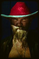 Cowboy Xmas (Luis Montemayor) Tags: cowboyxmas santamonica losangeles homeless portrait retrato man hombre usa hat sombrero