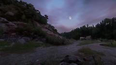 Sad Moon (Den7on) Tags: kingdom come deliverance cryengine warhorse studios deep silver daniel vávra grass tree road landscape sky