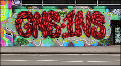 Spore (Alex Ellison) Tags: spore shoreditch eastlondon urban graffiti graff boobs