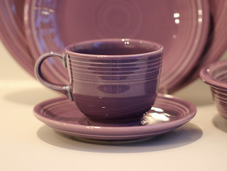 Fiestaware Lilac Place Setting