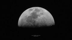 Luna sobre Guayaquil (Nendoras) Tags: guayaquil ecuador astrofotografia amateur beginner astrophotography moon luna espacio cielo