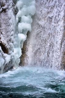 Tatzelwurm Waterfalls - an icy cold impression