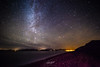 Rossbeigh (www.christopherfitzgerald.ie) Tags: milky way cosmos stars astrophotography great rift mountains silhouette black water lake sky night abstract light killarney ireland background outdoor aurora pier cloud rossbeigh beach