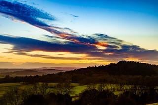 St. Martha's Sunset