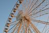 panoramic wheel (moniq84) Tags: genoa genova liguria sunset sunny day panoramic wheel ruota panoramica winter january italy big ferris red light ray
