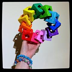 A modular modular WIP#2 (Squatbetty) Tags: origami modularorigami bennettarnstein cubewithwindows cube polyhedra