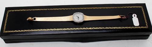 14kt. Diamond and Jewel Ladies Watch ($700.00)