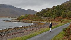 Just somewhere I need to be.. (Harleynik Rides Again.) Tags: scotland glenelg bernera beach kylerhea autumn colours somewhere highlands westcoast westernisles