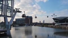 London - England (Been Around) Tags: riverthames emiratescablecarline london england uk greatbritain canningtown excelmarina britain british emirates seilbahn