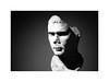 Roman face (Esko Kumpunen) Tags: copenhagen film kodaktrix400 pushingfilm 3200