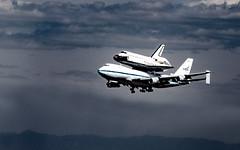 piggyback (fe2cruz) Tags: spaceshuttle endeavour losangeles california ca lax socal clouds blue nikon
