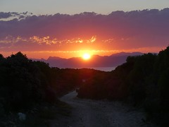 Grootbos  sunset, Western Cape