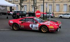 #08 Ferrari 308 GROUPE 4 - 02 (kinsarvik) Tags: castillonlabataille gironde bordeauxaquitaineclassic rallye rally