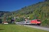 IC 282 @ Aistaig (Wesley van Drongelen) Tags: db deutsche bahn sbb cff ffs schweizerische bundesbahnen chemins de fer fédéraux federaux suisses ferrovie federali svizzere swiss federal railways intercity ic baureihe br class série serie type reihe 101 br101 aistaig gaubahn gäubahn gaeubahn trein train zug