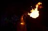 fire breathing dragon (mcfcrandall) Tags: dragon fire breath lights night darkness lightfestival toronto distillerydistrict flames distilleryto tolightfest