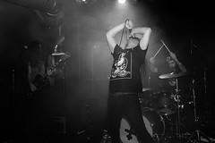 Gust (morten f) Tags: gust band sverige sweden swedish metal hardcore grindcore live konsert concert 2017 blå blaa bla oslo norge norway apmd all pigs must die singer monochrome grind artist