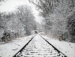 P1148588 (Dreamaxjoe) Tags: snow winter hó budapest vasút railway outofservicerailroadtrack
