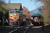 Swingin' off at St. Helena (CN Southwell) Tags: napa valley wine train alco fa fpa4 california