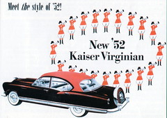 Kaiser Virginian (1952) (andreboeni) Tags: classic car automobile cars automobiles voitures autos automobili classique voiture rétro retro auto oldtimer klassik classica classico publicity advert advertising advertisement illustration kaiser virginian frazer manhattan