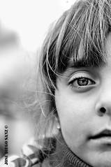 Clau (OcDiego) Tags: face cara retrato blancoynegro blackandwhite portrait girl young niña belleza beauty