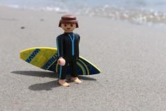 Surfer-001 (Klickystudios) Tags: playmobil outdoor ostsee strand sommer