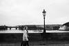 walking on charles bridge (xalphas) Tags: karluvmost charlesbridge monochrome street bw architecture prague blackandwhite fujifilm streetphotography