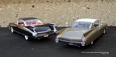1959 & 1960 Cadillac Eldorado Seville Hardtops (JCarnutz) Tags: 124scale diecast danburymint 1959 1960 cadillac eldorado seville
