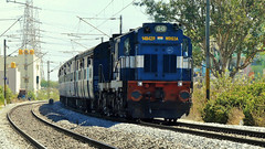Mega Offlink's Return Journey with Vivek Express !!! (sriguru05) Tags: railfanning raildrishti indianrailways locomotive trainspotting railroad train engine track panasonic lumix fz300 4k diesel vivek ex express offlink ngc guwahati nfr northeast frontier tuticorin okha rebuilt alco curve