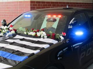 Fallen DPD Officer Glenn Anthony Christopher Doss's Cruiser