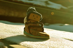 Danbo by RK (11) @winter2018 (Robert Krstevski) Tags: robertkrstevskiblogspotcom robkrst robertkrstevski robertkrstevskiblogspotmk danbo danboard danbomacedonia danbostory danborou danboamazon snow winter winter2017 snow2017 light nikon nikond3300 europe balkan macedonia travel revoltech robot robots minimalisam funny cute данбо life