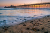 Oceanside Pier Sunset (meeyak) Tags: oceanside orangecounty california usa sandiego pier ocean sand rocks reflection sunset colors landscape seascape longexposure smooth texture shapes lines flow water sea meeyak sony a7r2 28mm lens ndfilter sky nature travel vacation outdoors adventure