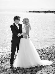 Anjo & Patrick (LalliSig) Tags: wedding photographer iceland people portrait portraiture black white gray snæfellsnes summer july