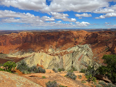 Upheaval Dome at Canyonlands NP in UT (Jeff Hollett in Vancouver, WA) Tags: canyonlandsnationalpark utah sw southwest desert landscape canyon