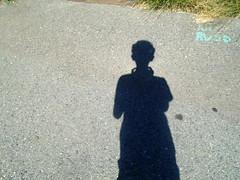 DSC01354 (classroomcamera) Tags: school campus playground concrete blacktop shadow selfie portrait boy camera picture digital photography rvsd ground look down below shadows