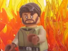 Kanan Jarrus Jedi Knight (eddiemck123) Tags: lego starwars starwarsrebels kananjarrus moc customminifigure minifigure toy jedi