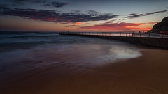 Collaroy Sunrise 1 (RoosterMan64) Tags: australia clouds collaroy landscape longexposure nsw northernbeaches rockpool seascaspe sunrise